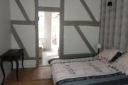 Gite Armonui Honfleur chambre-Perle-avec-lit-160