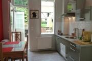 Gite Armonui Honfleur chambre-Perle-cuisine
