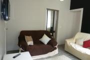 Gite Armonui Honfleur chambre-Perle-salon-avec-tv