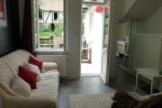Gite Armonui Honfleur chambre-Perle-salon-vu-de-la-chambre